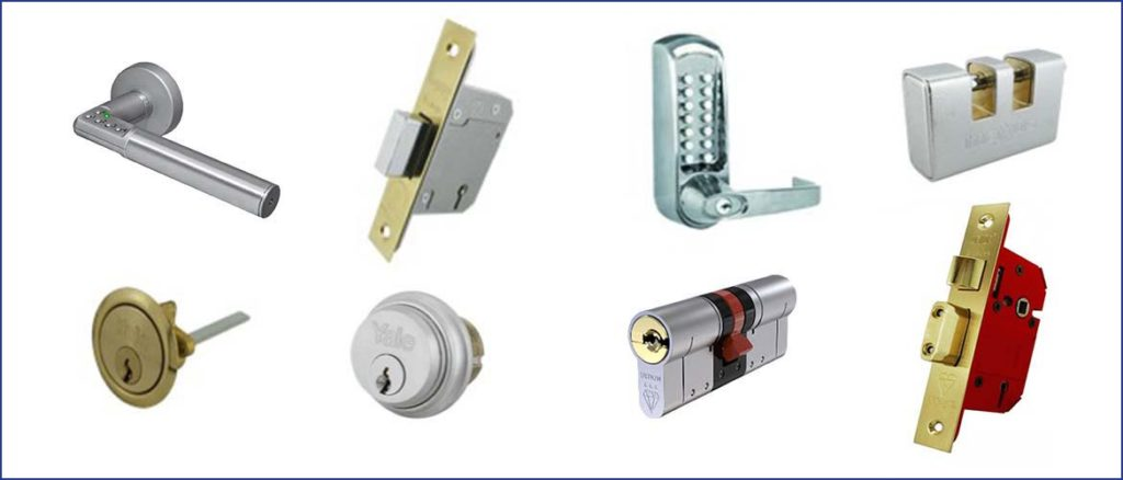 Range of Locking Products