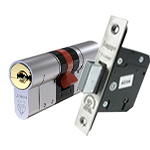 Ultion euro-cylinder lock & Legge mortice lock